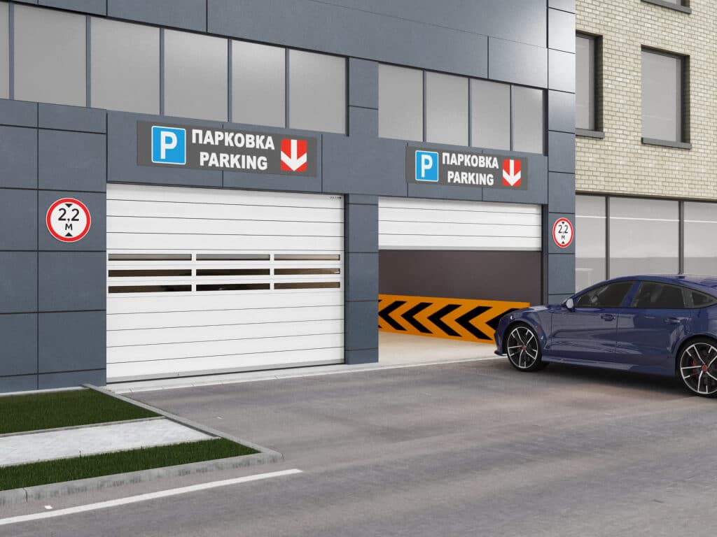 ISD01 Parking в ГК Регион-Гарант