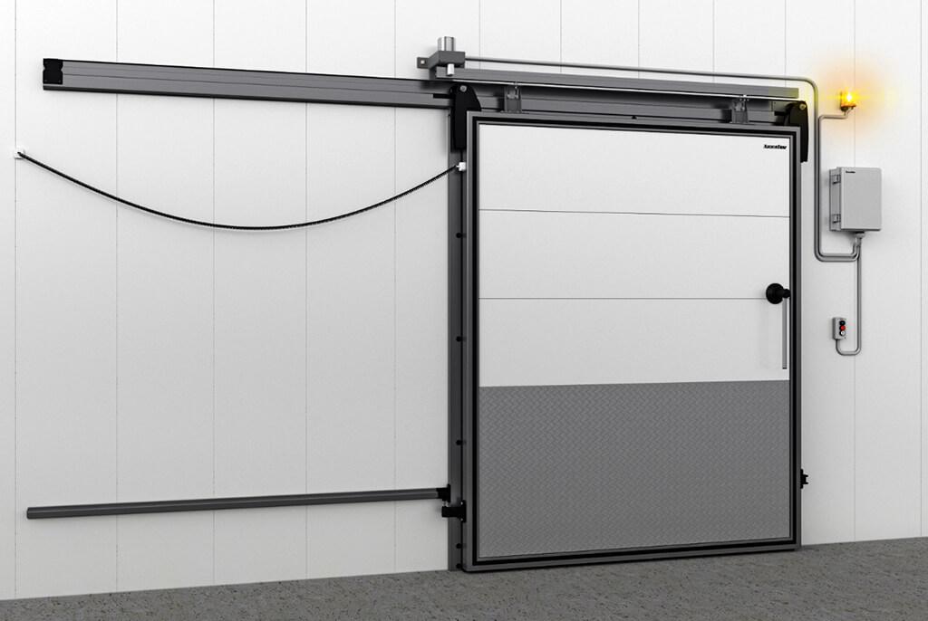 Система автоматизации для откатных холодильных дверей, теперь в продаже
