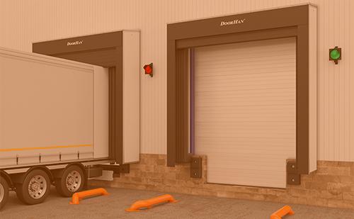 Новый приямок системы SDS для удобной парковки автомобиля в перегрузочный док ГК Регион-Гарант
