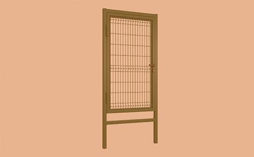 В продаже стандартные комплекты калиток и распашных ворот с заполнением сварной сеткой ГК Регион-Гарант