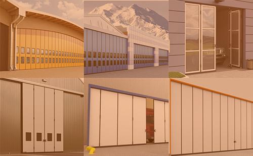 Ассортимент промышленных складных, откатных и распашных ворот DoorHan ГК Регион-Гарант