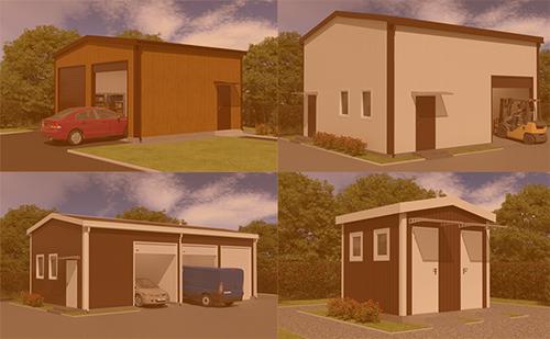 DoorHan разработал новую серию быстросборных каркасных зданий для частного и коммерческого сектора ГК Регион-Гарант