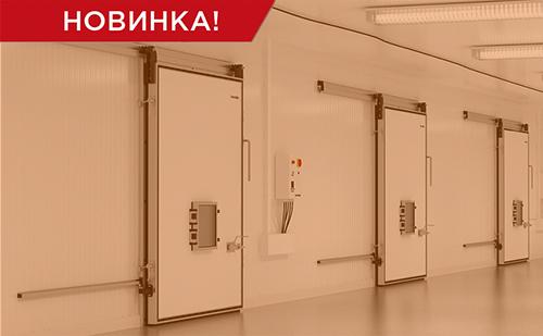 Откатная дверь для камер с регулируемой газовой средой ГК Регион-Гарант
