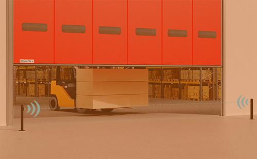 Новая комплектация скоростных ворот серий SpeedRoll, SpeedFold и HSSD повысит их безопасность ГК Регион-Гарант