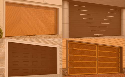 Гаражные секционные ворота с торсионным механизмом RSD02 ГК Регион-Гарант